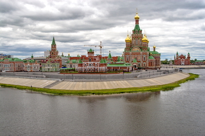Yoshkar–Ola city Mari El republic in Russia