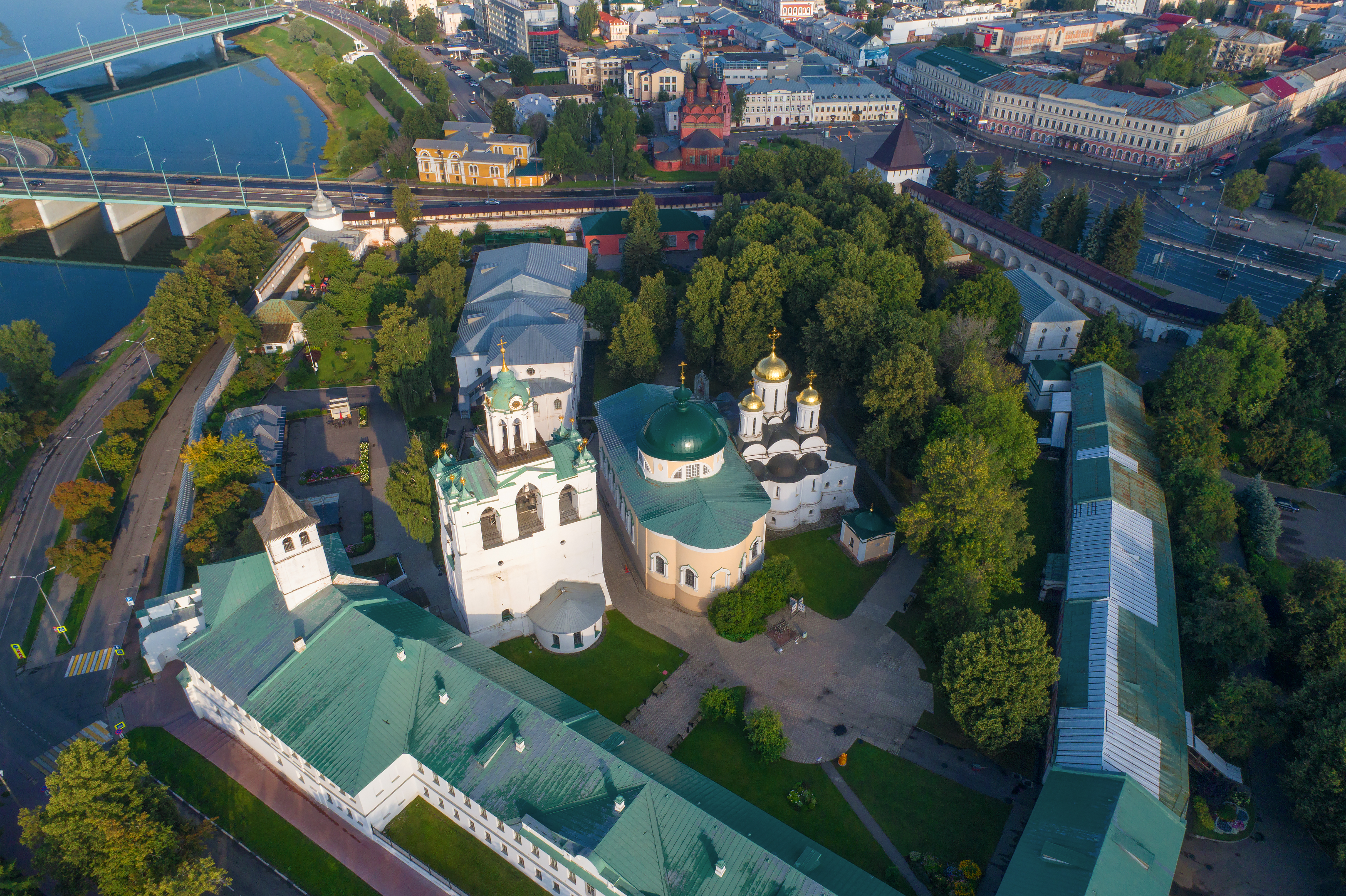 Filming in Yaroslavl of Russia